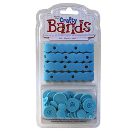 Crafty Bands - Kit de recharges - Bleu