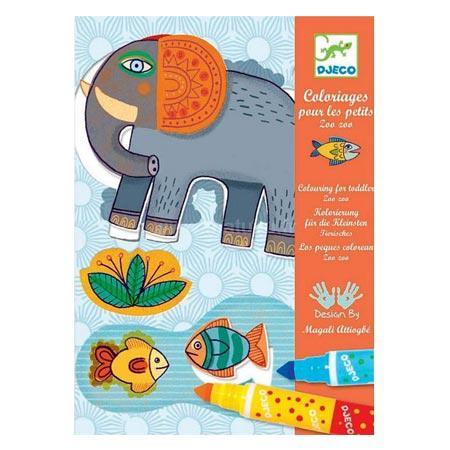 Coloriages - Pour les petits - Zoo Zoo