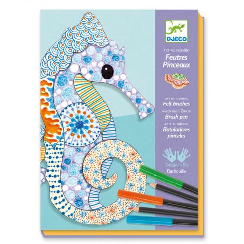 Atelier feutres et crayons - L'art du motif