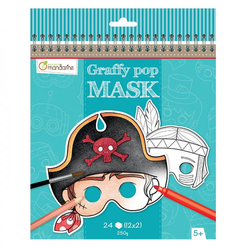 Graffy Pop Mask - Garçon