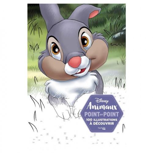 Disney Animaux Point par Point - 100 illustrations
