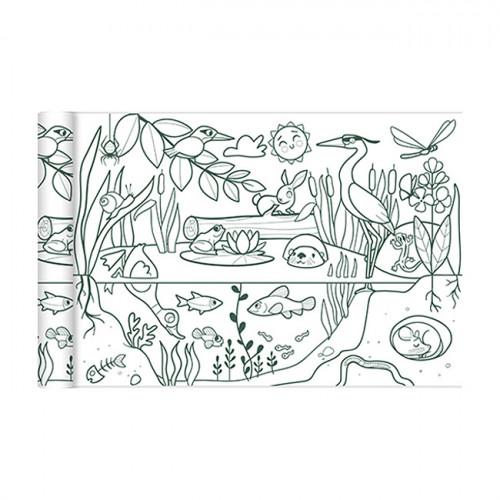 Coloriage Graffy Roll Ecosystème - 0,35 x 5 m