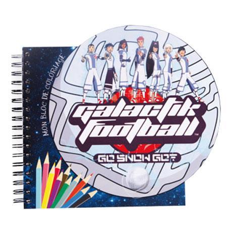 Galactik Football - Bleu - Carnet de coloriage # 1