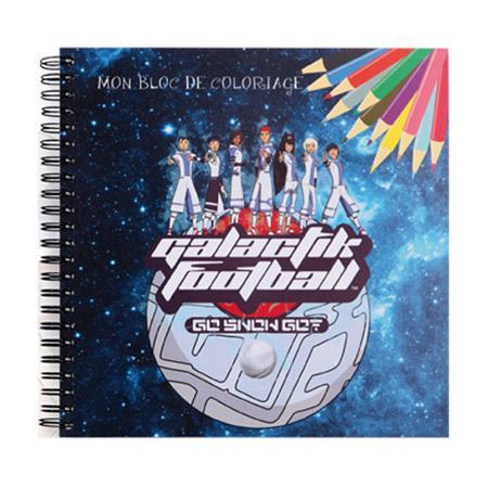 Galactik Football - Bleu - Carnet de coloriage # 2
