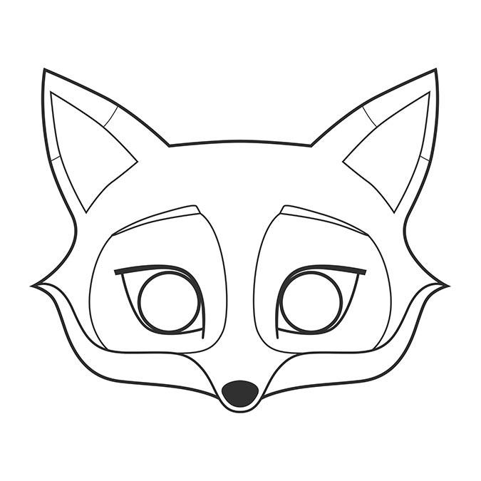 Graffy Pop Mask - Animaux