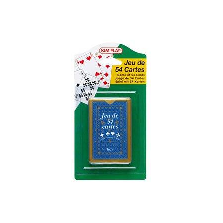 Jeu de 54 cartes - Luxe