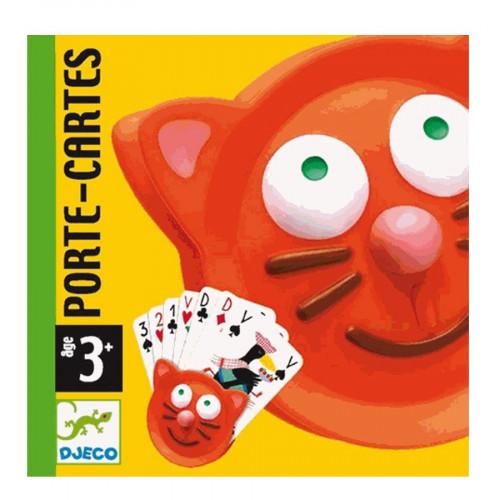 Porte-cartes - Tête de chat