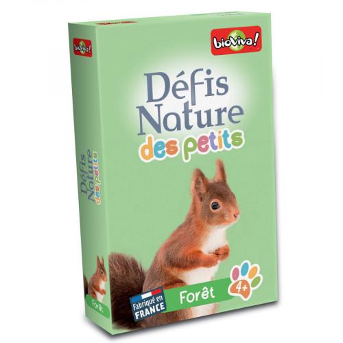 Jeu Défis Nature des Petits Forêt