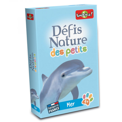 Jeu Défis Nature des Petits Mer