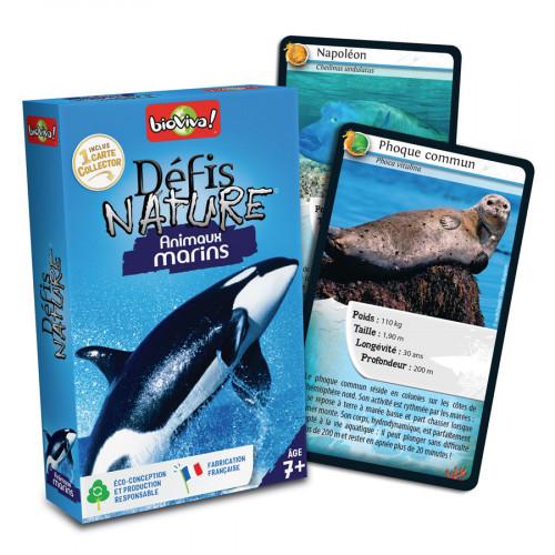 Jeu Défis Nature Animaux marins