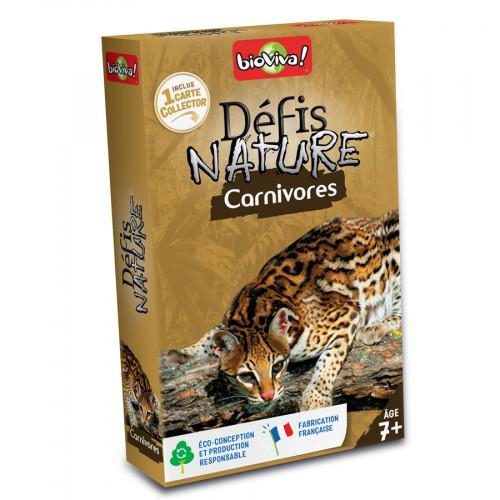 Jeu Défis Nature Carnivores