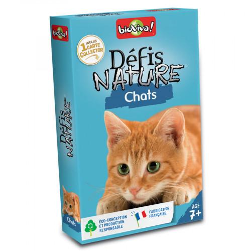 Jeu Défis Nature Chats