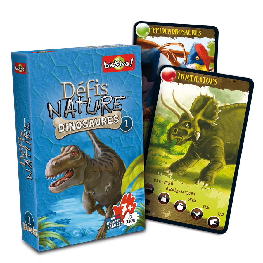 Jeu Défis Nature Dinosaures #1