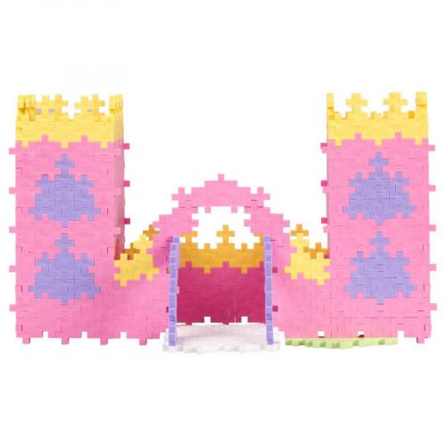 Jeu de construction Mini Pastel - Coffret château et princesses - 760 pcs
