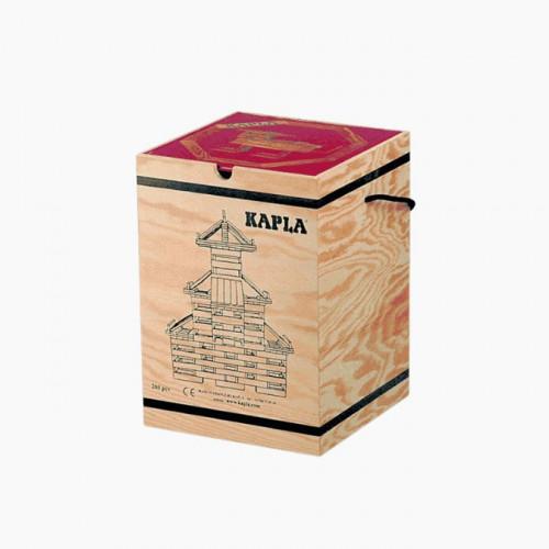 Jeu de construction en bois KAPLA La boîte de 280 planchettes