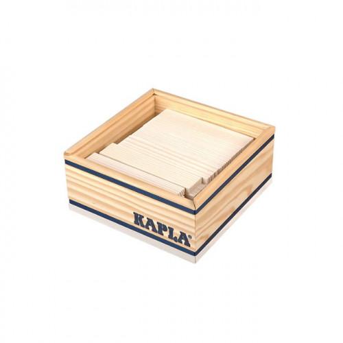 Jeu de construction en bois KAPLA Lot de 40 planchettes blanches