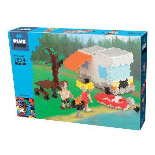 Jeu de construction Mini Basic - Coffret camping - 760 pcs