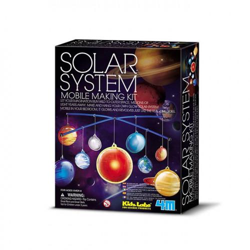 Kidzlabs - Kit système solaire phosphorescent