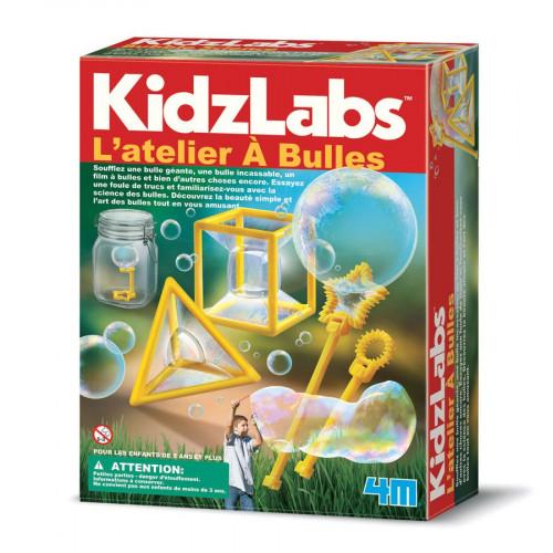 Kidzlabs - Kit l'Atelier à bulles