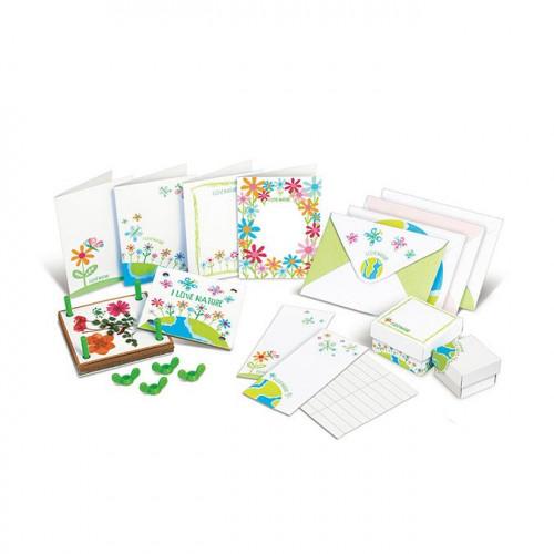 Green Creativity - Kit fleurs pressées