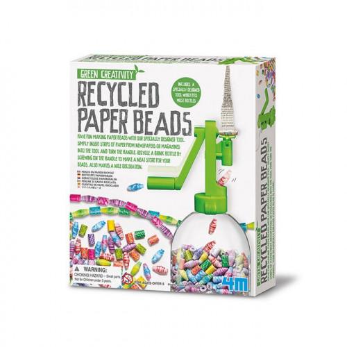 Green Creativity - Kit perles en papier recyclé