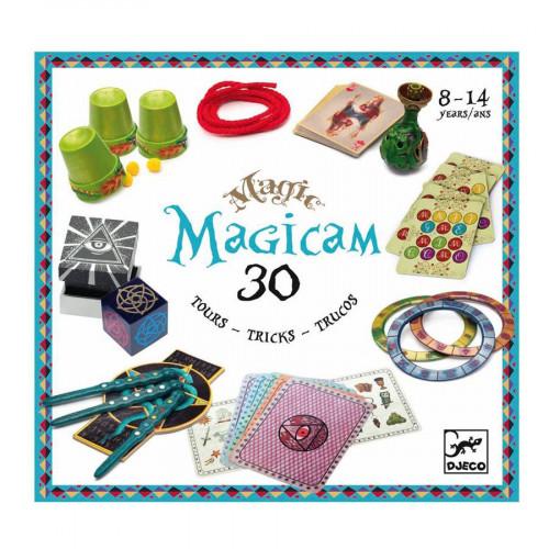Coffret de magie - Magicam - 30 tours de magie
