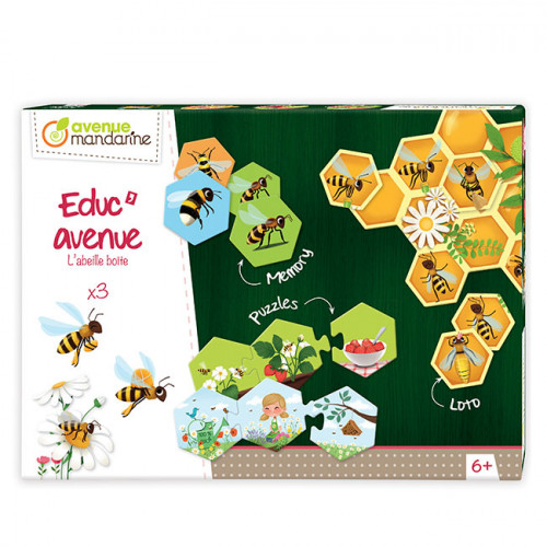 Educ'Avenue Jeux L'abeille boîte