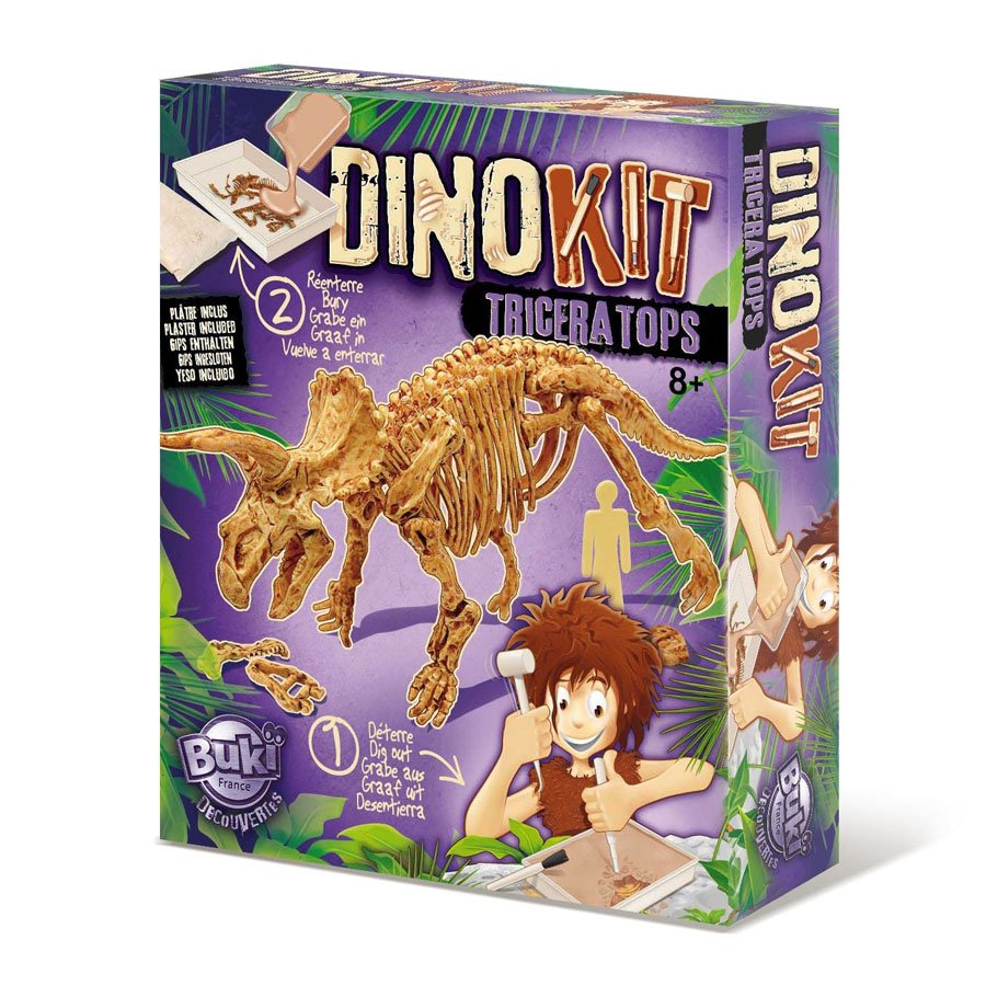 Jeu de paléontologie - Dino Kit Triceratops