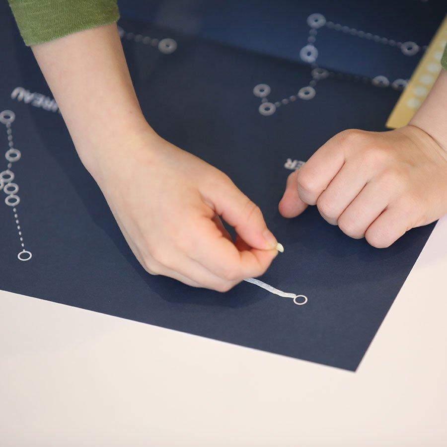 Kit Dessiner un poster des constellations