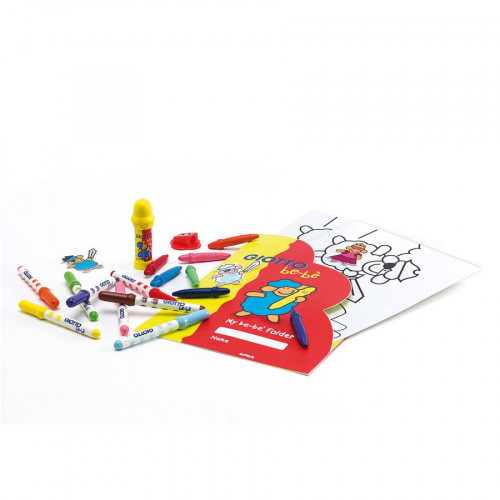Giotto be-bè - Coffret de coloriage - Stick & Color set