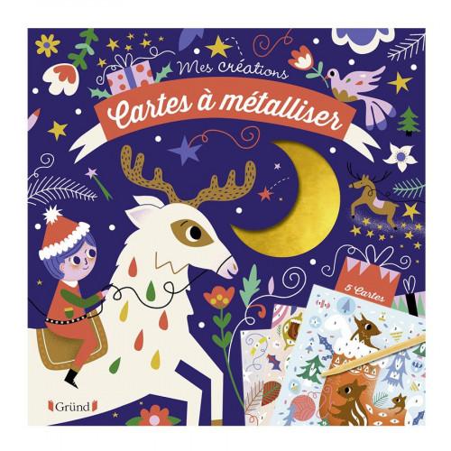 Mes créations - Cartes à métalliser - Noël