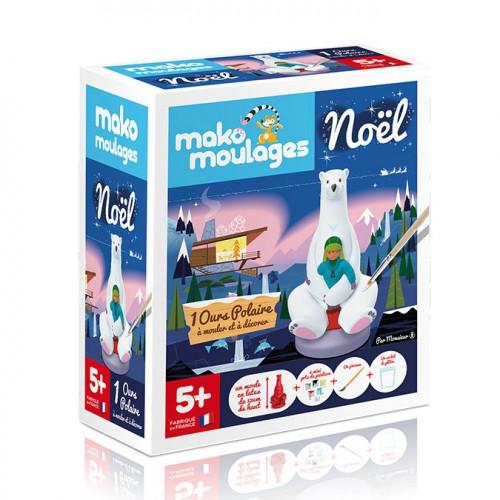 Kit de moulage L'ours polaire de Monsieur Z