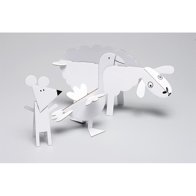 Anim'Odulos Ferme - 15 animaux à assembler
