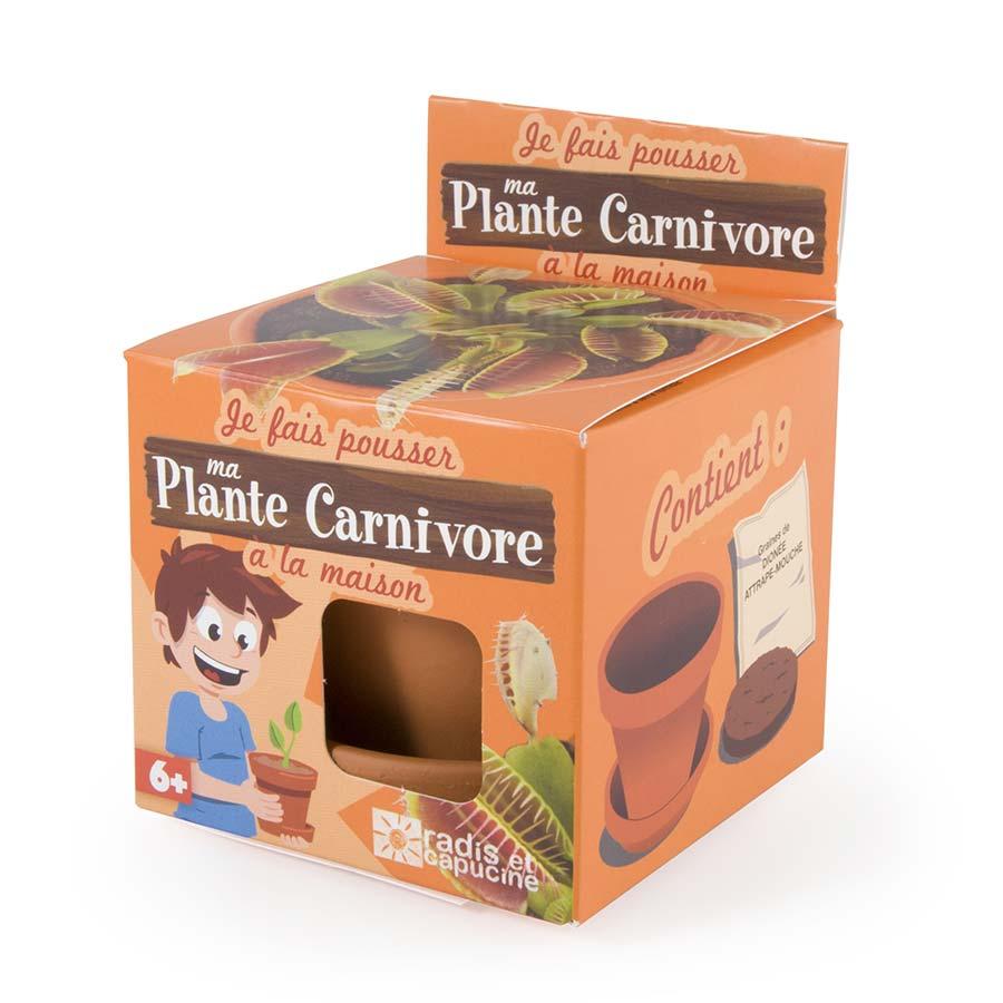 Kit Je fais pousser ma plante carnivore