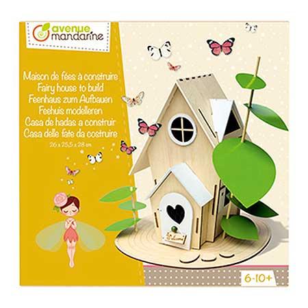 Boîte créative Maison de fées à construire