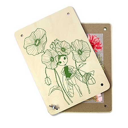 Boîte créative Presse-fleurs et herbier