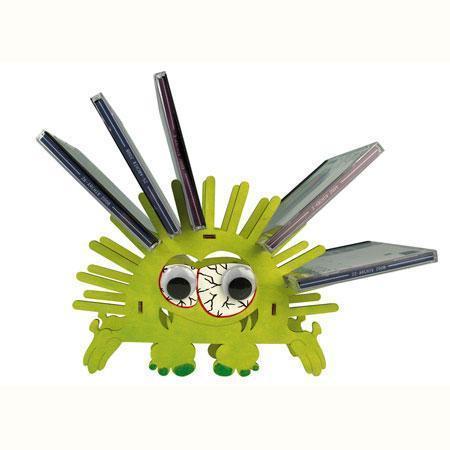 Kit bricolage en bois - Porte-CD monstre