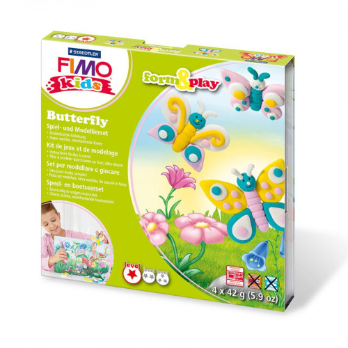 Fimo Kids - Form & Play - Papillons