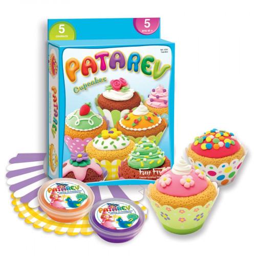 Pâte à modeler Patarev - Cupcakes