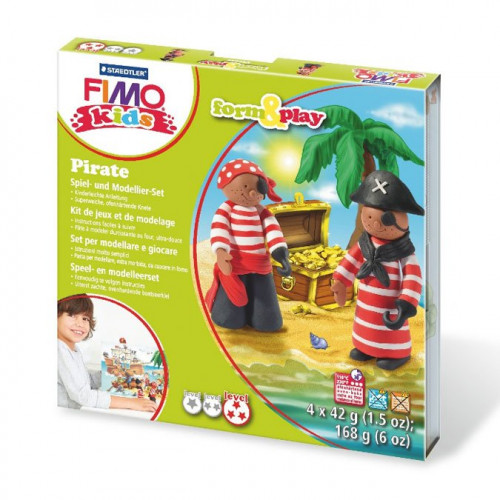 Kit de modelage Fimo Kids Pirates