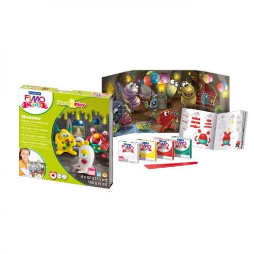 Kit de modelage Fimo Kids Monstres