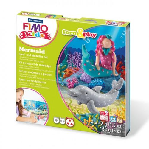 Kit de modelage Fimo Kids Sirène