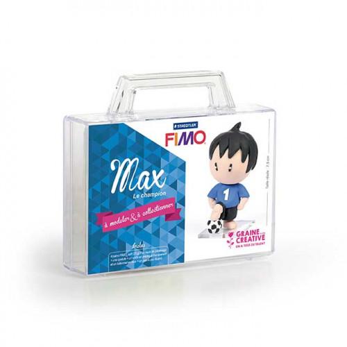 Kit de modelage Fimo Figurine Max Le Champion