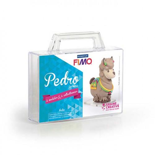 Kit de modelage Fimo Figurine Pedro le lama