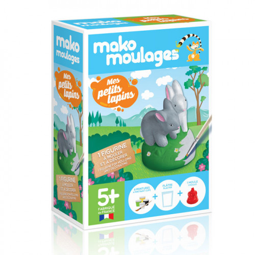 Kit de moulage Mes petits lapins