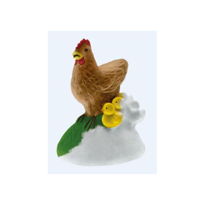 Kit de moulage La poule et ses poussins