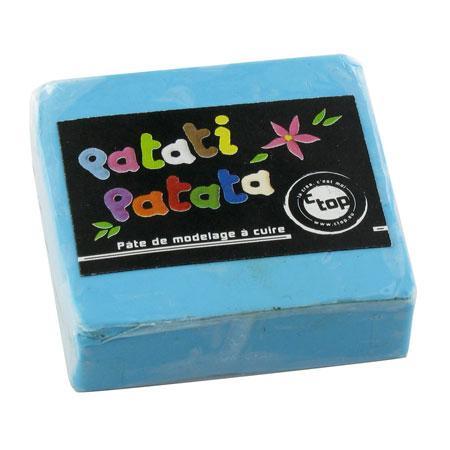 Pâte à modeler polymère Patati Patata - bleu clair - 50 g