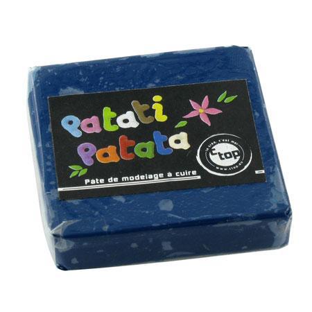 Pâte à modeler polymère Patati Patata - bleu foncé - 50 g