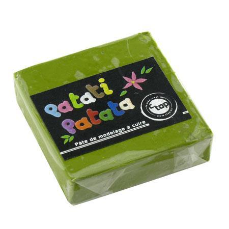 Pâte à modeler polymère Patati Patata - vert foncé -50 g