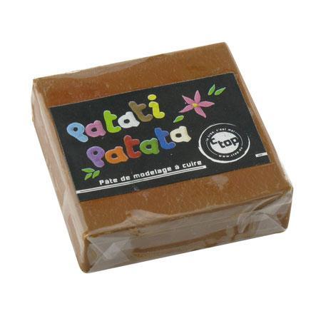Pâte à modeler polymère Patati Patata - marron - 50 g